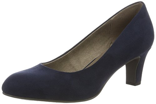Tamaris Damen 22478 Pumps, Blau (Ocean 803), 37 EU