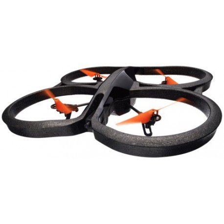 Parrot AR.Drone 2.0 Power Edition Quadrocopter (geeignet für Android-/Apple-Smartphones und -Tablets) orange Indoor-repeater
