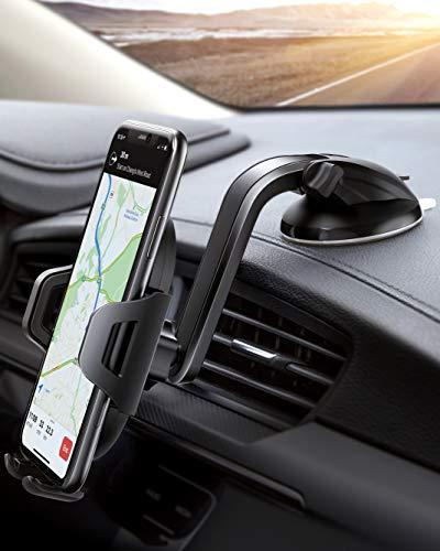 PaiTree Handyhalter fürs Auto Handyhalterung mit Hülle Saugnapf Halterung KFZ Handyhalterung Smartphone Halterung für iPhone11/ 11 Pro/Samsung Galaxy Note10/S10/HUAWEI LG usw