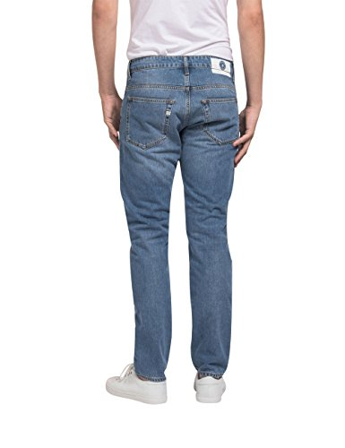 "MUD Jeans Herren Jeans ""Regular Dunn"" in Stone Blue Stone Blue"