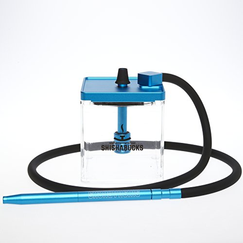Cloud|Micro Modern Hookah with a Bag - Modern and Portable ... (Blue)