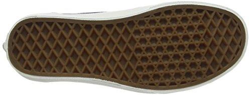Vans Unisex-Erwachsene Brigata Sneaker Blue (Washed - Navy/Stripes)