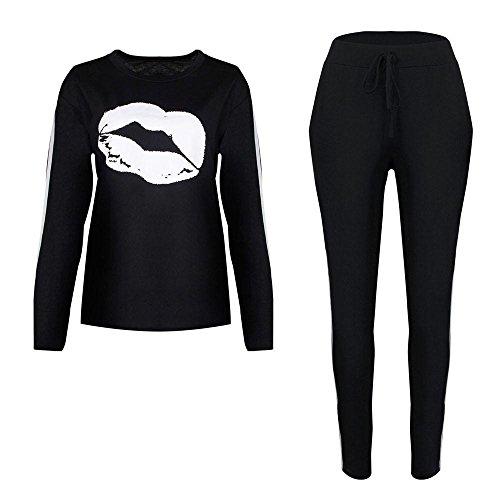 Morwind Tracksuit Womens Set, 2Pcs Women Tracksuit Sweatshirt Pants Sets Sport Lounge Wear Casual Sport Wear, Womens Lounge Wear Tracksuit