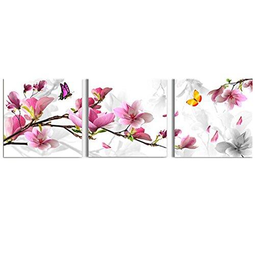 Bluelover 3Pcs Flor Combinación Pintura Pintura Al