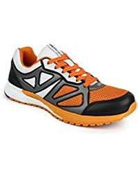 Mmojah Energy-19 Black/Orange Running Shoes 9UK