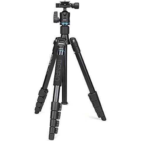 Benro IT15 Kit de Trípode de aluminio Monopod con cabeza de Rótula para Canon Nikon Pentax Cámara &