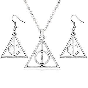 PPX Plata Triángulo Colgante Collar