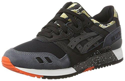 Asics Gel-Lyte Iii, Chaussures de Gymnastique Mixte Adulte, Noir (Black), 43.5 EU