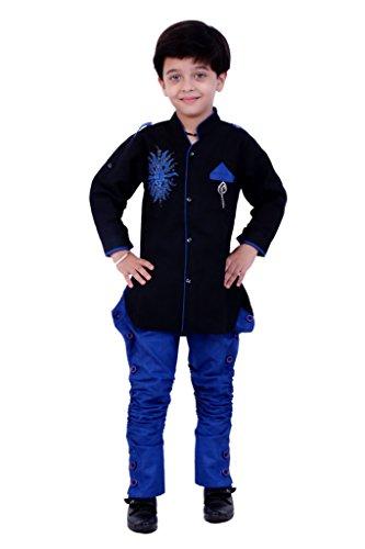 316b9dcc5 Buy Boys Sherwani Embroidered Kids Wear by Arshia Fashions - 2-7 ...