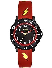 s.Oliver Unisex Kinder-Armbanduhr SO-3559-PQ