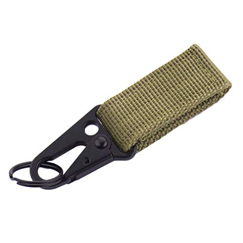 ningbao771 Multifunctional Outdoor Camping Tactical Carabiner Backpack Hooks Olecranon Molle Hook Survival Gear Keychain Clasp