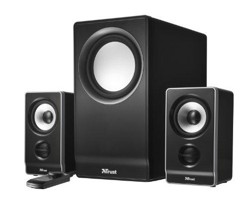 Trust Wave 2.1 Lautsprechersystem mit Subwoofer schwarz