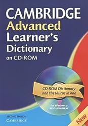 Cambridge Advanced Learner's Dictionary CD ROM (Cambridge Advanced Learner's Dictionary) (WIN NT, 2000, ME, XP)
