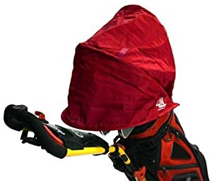 Masters Rain Wedge Bag Cover - Red
