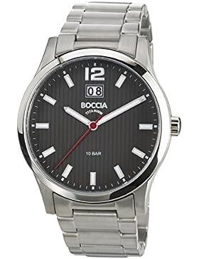Boccia Herren-Armbanduhr XL Tita