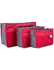 Periea - Lot de 3 Organiseurs de sac à main - Chelsy - (Un petit moyen et grand)