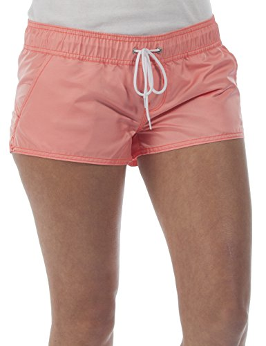 Bench Damen Shorts Badeshorts ZEST, Gr. 38 (Herstellergröße: M), Orange (Fluoro Coral OR098)