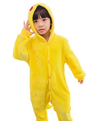 MissFox-Kigurumi-Pijamas-Unisexo-Nios-Traje-Disfraz-Nios-Animal-Pyjamas-Pikachu