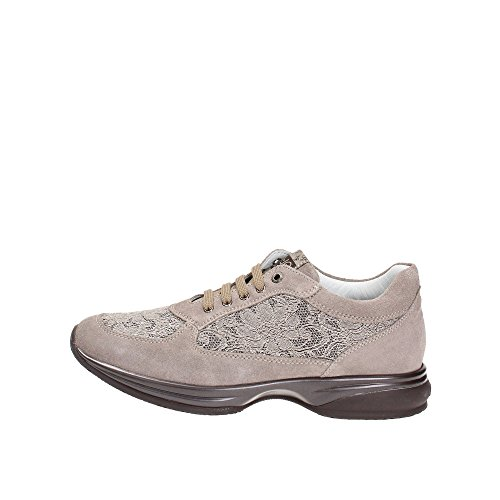 Liu Jo Actif Baskets Basses Neuf Chaussures Femme Taupe