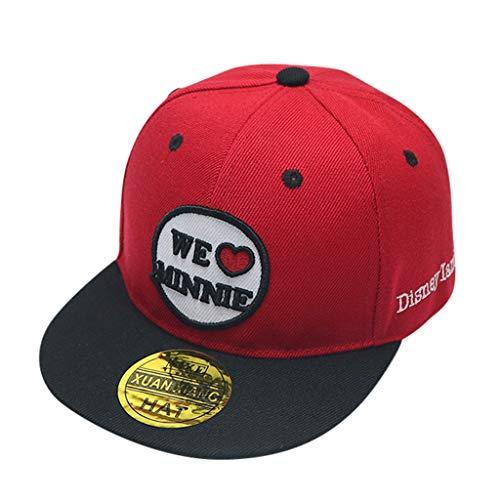 Imagen de mssweet electrónica hucodevan sombreros para niños/sombrero boina/ rapera/gorro de sol/carta bordado estampadas beisbol rectas  visera plana