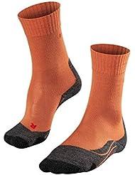 FALKE Tk2 - Calcetines de Trekking para Mujer, Primavera/Verano, Calcetines, Mujer, Color Amber (5681), tamaño 35-36