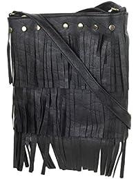 Style Villaz Women Black Sling Bag