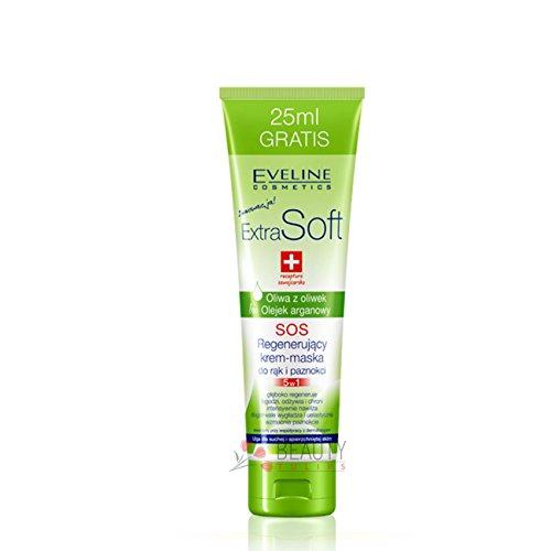 Eveline Extra Soft Hand Cream-Mask Regenerating 5-in-1 Swiss Recipe 100ml