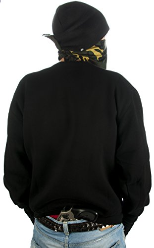 klamottenstore - Pull - Homme Noir