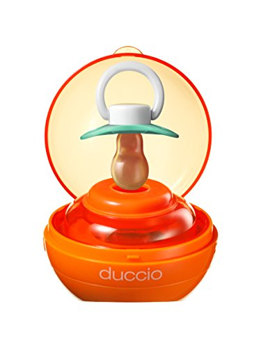 Quaranta Settimane QS005DA04 Duccio Sterilizzatore per Succhietti, Arancione, 0-6