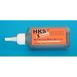 HKS extrem Kettenfett 100ml Aufträufler Kettenfett synthetisch