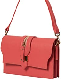 Bolsos estilo cartera , Minibag ( 24 / 15 / 5 cm ) cuero Mod. 2046 by fashion-formel