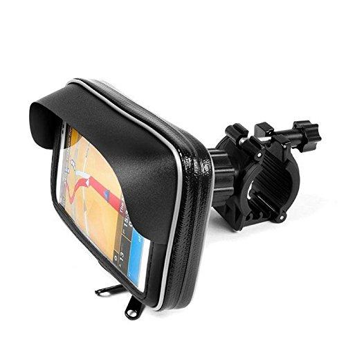 X-Style Soporte Impermeable GPS/Smartphone Universal con Visera Parasol 6,5