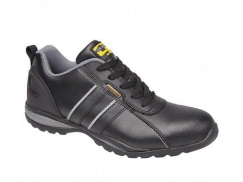 Grafters ,  Unisex - Erwachsene Sneaker Low-Tops Nero/Grigio