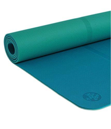 Manduka Alfombrilla de Yoga Welcome, Unisex, Color Magenta, 5 mm, Unisex, Welcome Mat - 5MM - Harbour, Harbour