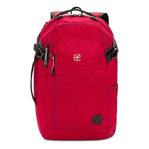 Swiss Gear Hybrid 21 Ltrs Red Laptop Backpack (3555431416) Image 9