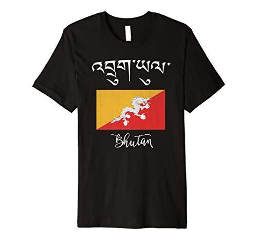 Bhutan Flag (Bhutan Flag T-Shirt)