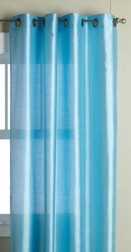 Editex Home Textiles Elaine Window Panel, 58 by 95-Inch, Aqua by Editex Home Textiles -
