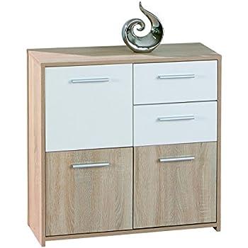 kommode eiche sonoma k che haushalt. Black Bedroom Furniture Sets. Home Design Ideas