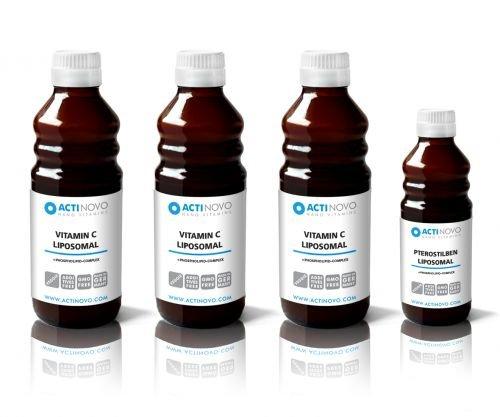 Liposomales Power Pack: Abwehr Winter Set - Vitamin C + Pterostilben extrem effektiv