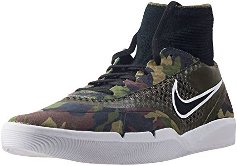 Nike SB Hyperfeel Koston 3  Herren Durchgängies Plateau Sandalen mit Keilabsatz   Grün   camouflage   Größe: 41