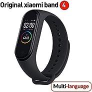 Versione globale Xiaomi Band 4 intelligente schermo a colori braccialetto frequenza cardiaca palestra musica B