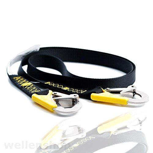 wellenshop Lifeleine 2-Punkt 185 cm Sicherheitsgurt Sorgleine Lifeline