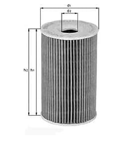 Knecht OX 339/2D Filtre à huile