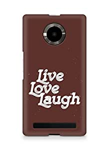 Amez Live Love Laugh Back Cover For YU Yupheria