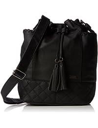 Roxy Time For Dancing - Bolsa de tela y de playa, color negro, 47 cm