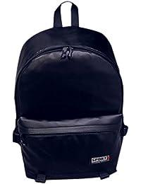 Clode® Hombres mujeres Super Cool Colegio estilo cuero mochila para portátil viaje gran capacidad escuela bolsa
