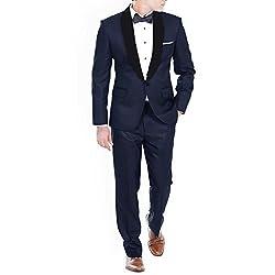 Premium Blue Wedding Tuxedo