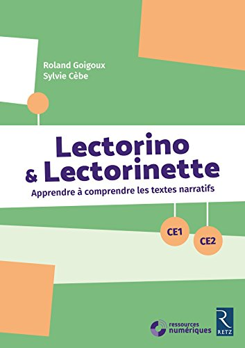 Lectorino & Lectorinette (+ CD-Rom) - CE1-CE2 par Sylvie Cèbe