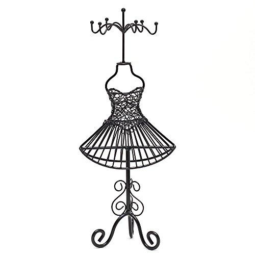 Présentoirs pour Bijoux - Metal Jewellery Holder - Dressmaking Mannequin for Necklaces Bracelets Earrings