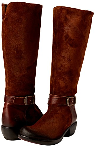 Fly London Meek735fly, Santiags Femme Marron (Camel/tan 005)
